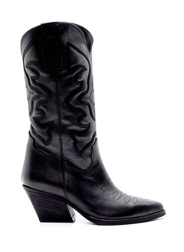 Derimod Kadın Çizme (M05) Casual Siyah